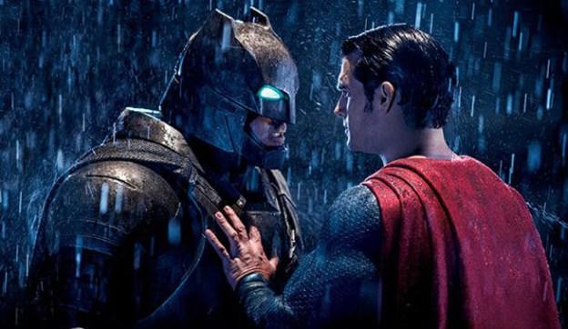 Batman V Superman Dawn of Justice Superman and Batman stare down