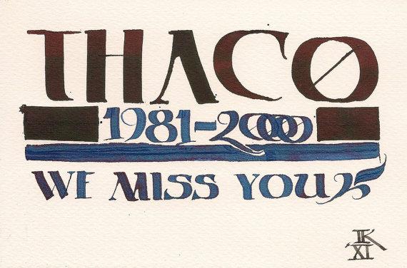 d&d meme thac0 we miss you