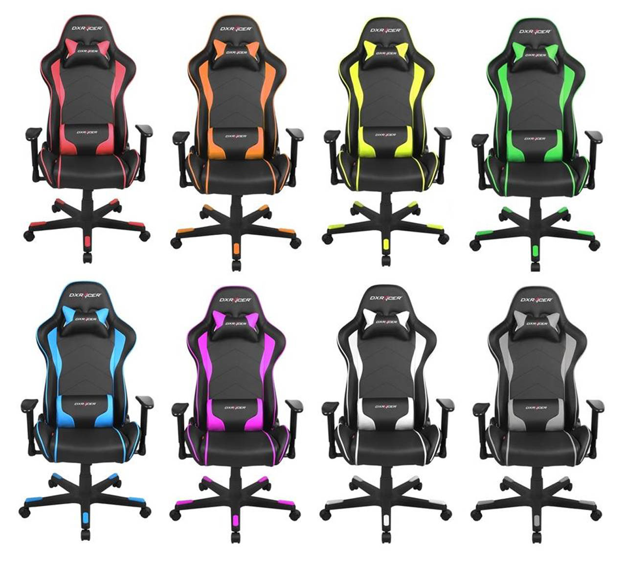 Dxracer Pc Gaming Chair Feel The Part Of A Real Race Car Driver Dxracer Gets Nz