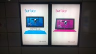 Advertisements for Surface are all over the place. Good to see.
