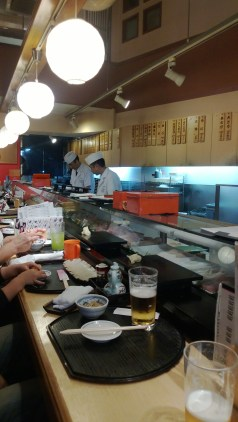 And this was my other point in coming down here... About the freshest sushi you can get...
