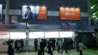 And we can't forget what sent all of us over there - Office 365. This is an advertisement in a Tokyo train station.
