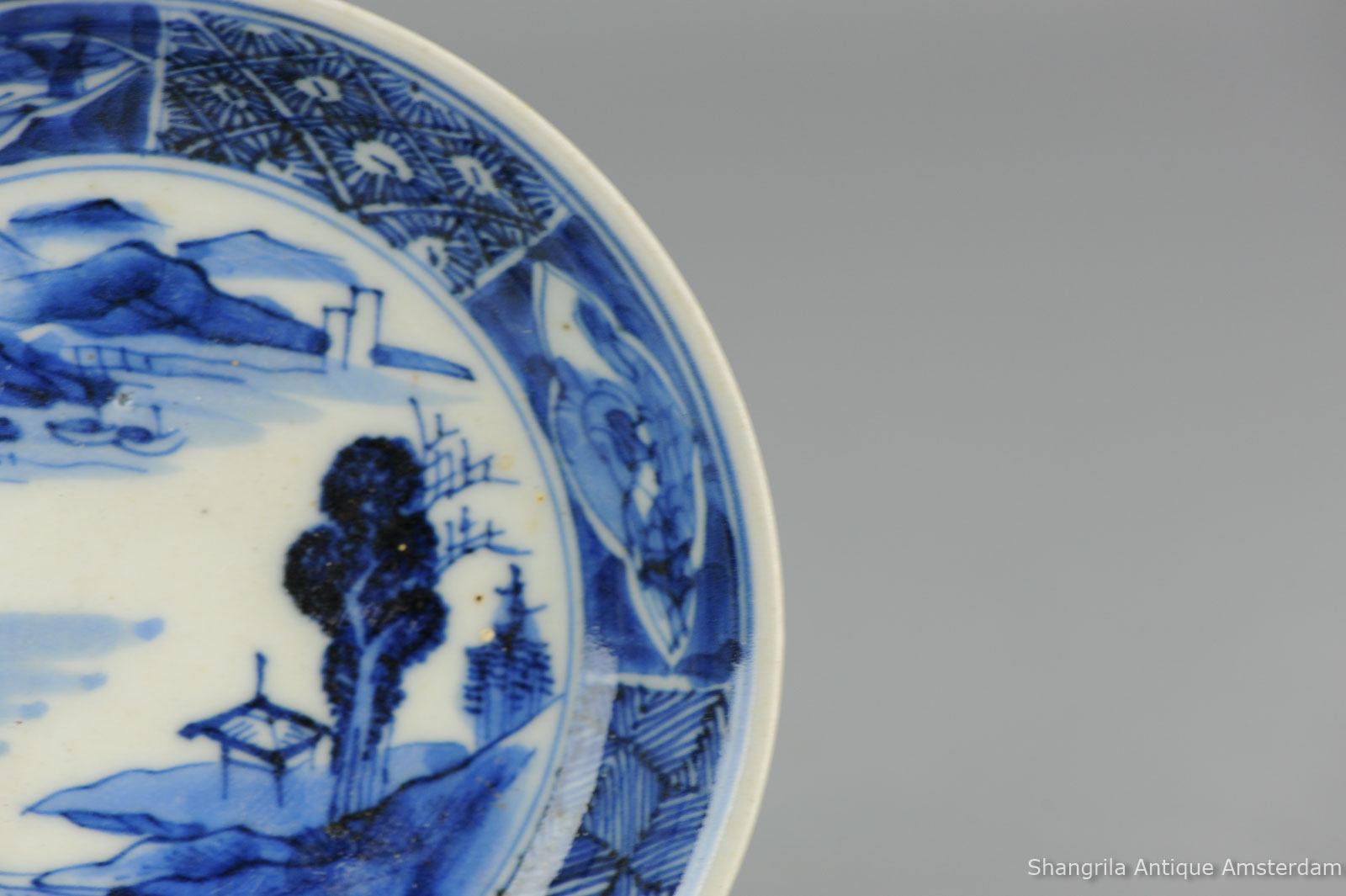 Michelle Knows Antiques Past Appraisals Blue ... & Antique Blue And White Plates - Castrophotos