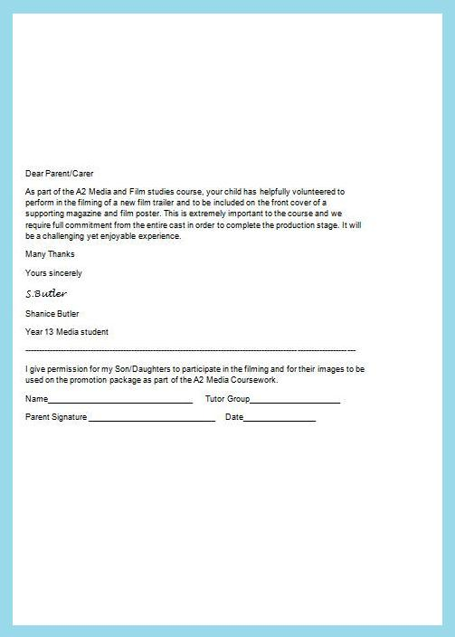 Sample Medical Consent Form Example Short Form Consent Chop