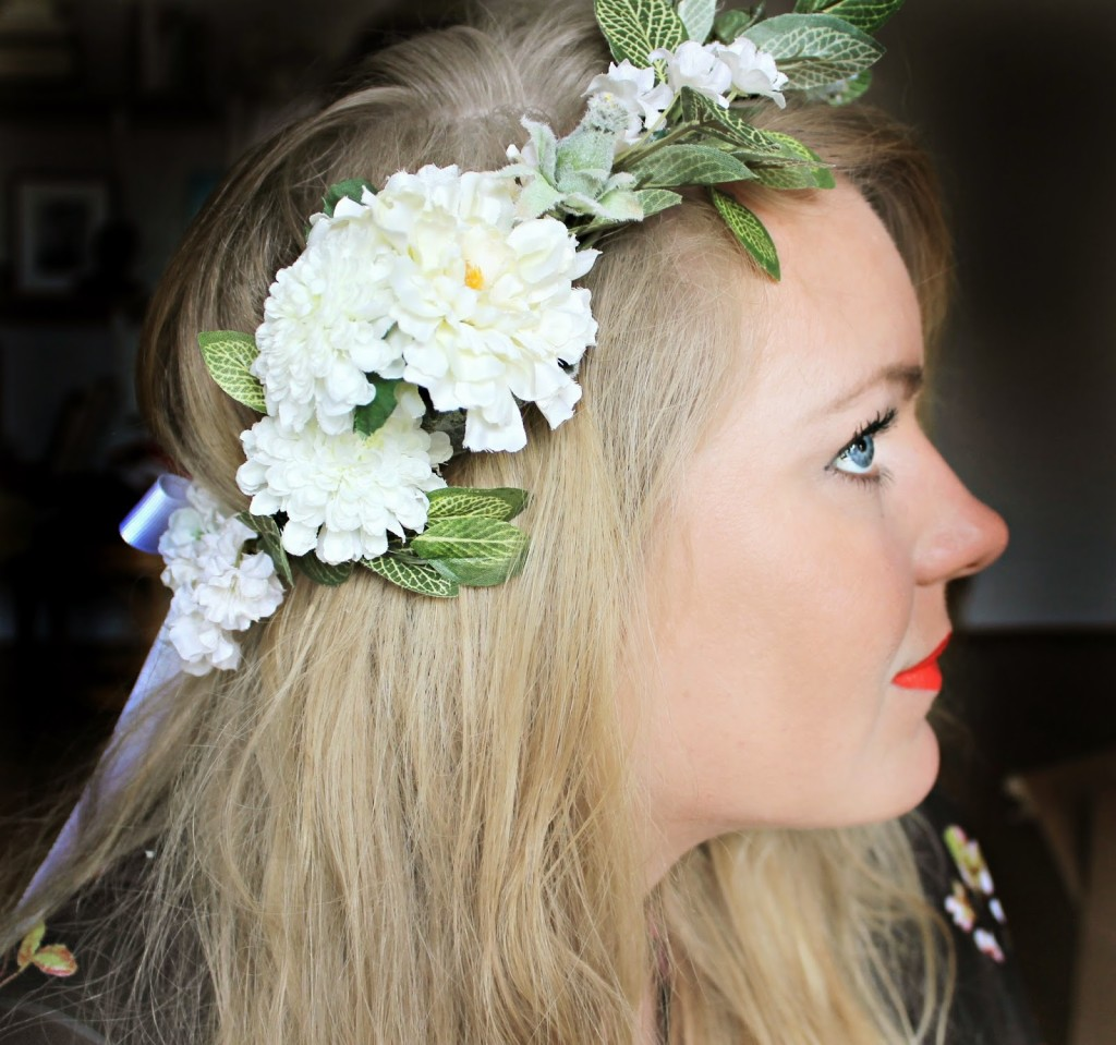 DIY Files Flower Crown Shannon Claire