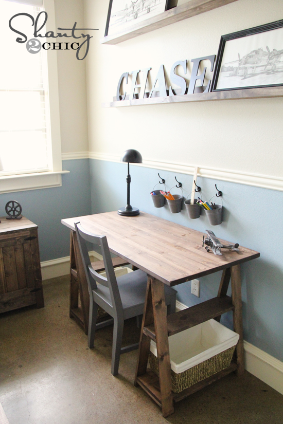 Desks For Small Spaces Ikea Paint Colors !! - Shanty 2 Chic