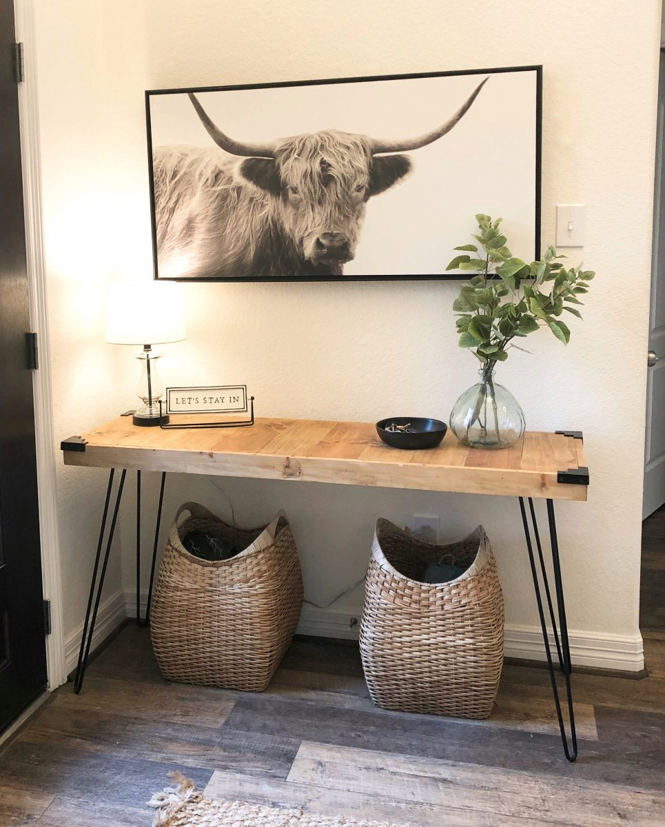 Diy Hairpin Console Table Shanty 2 Chic