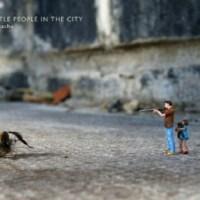 slinkachu: little people in the city.