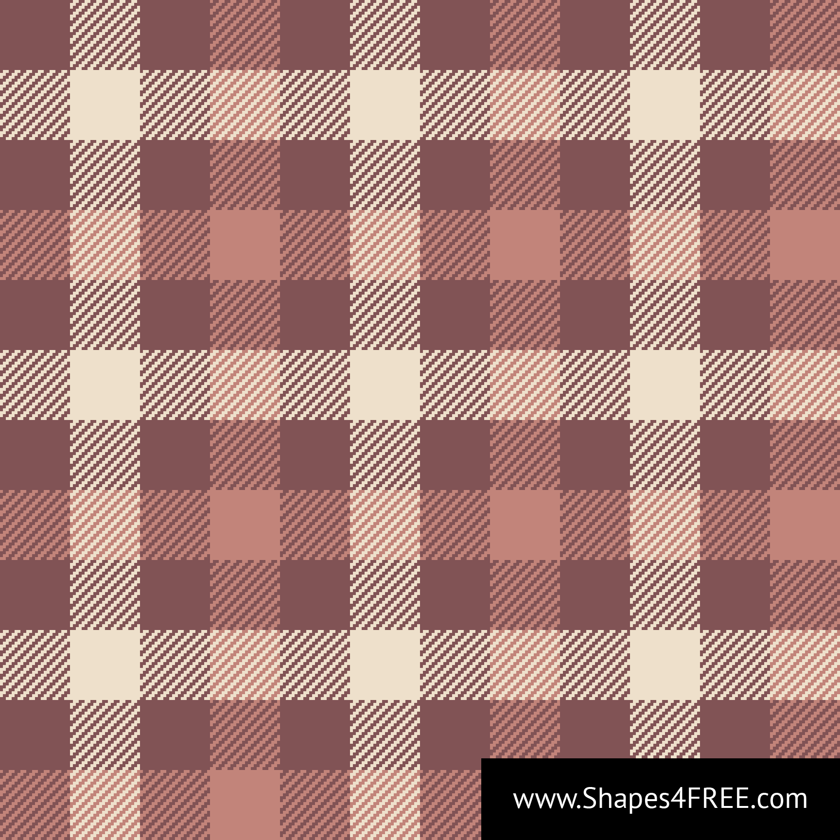 Plaid Taupe Taupe Tartan Check Plaid Pixel Pattern Vector Svg Vector Patterns