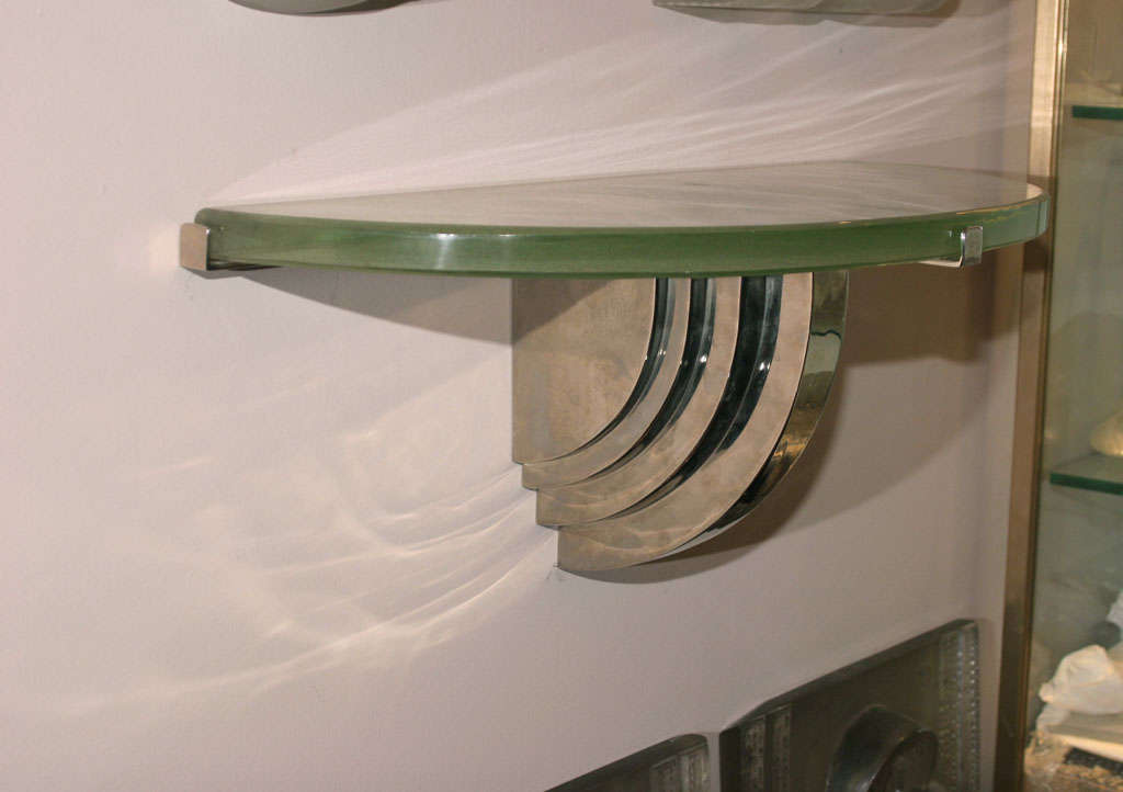 Art Deco Wall Mounted Console Table Shelf At 1stdibs