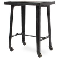 Industrial Steel Rolling Table at 1stdibs