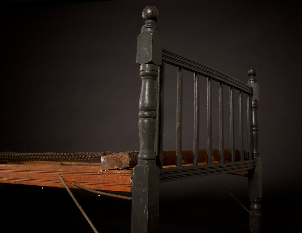folding cot or daybed circa 1920 at 1stdibs