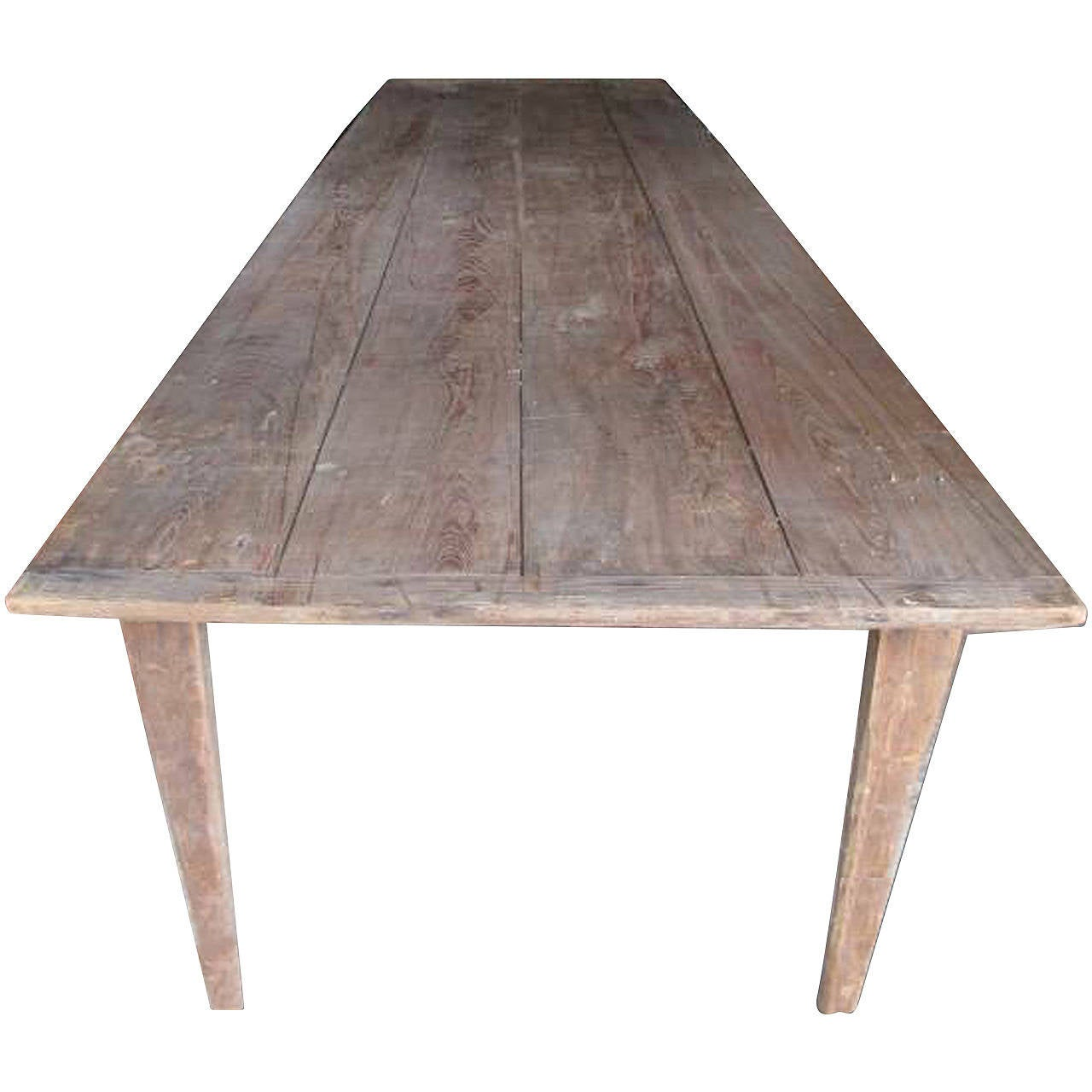 10 Foot Dining Table Antique Folding Harvest Table 10 Ft Length At 1stdibs