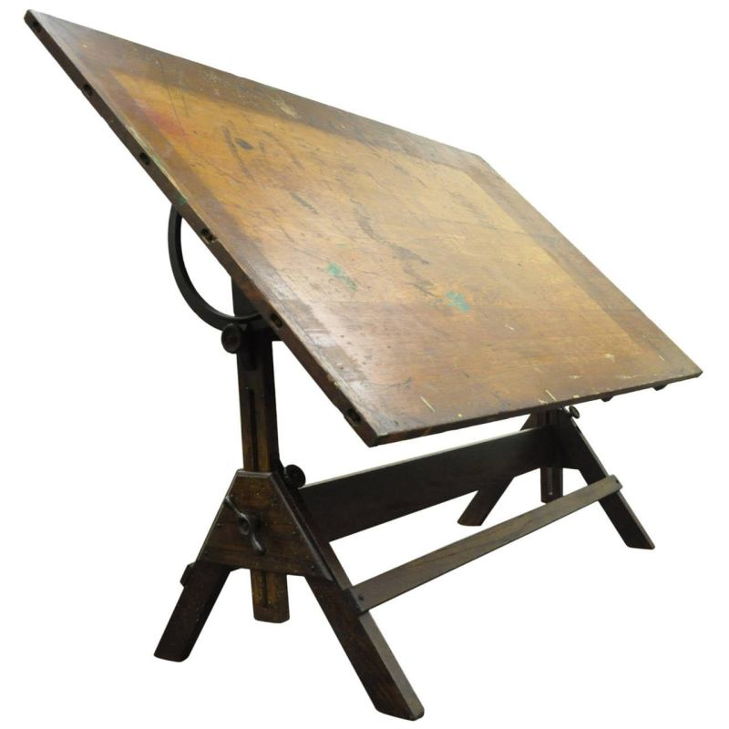 Large Of Drafting Table Hardware
