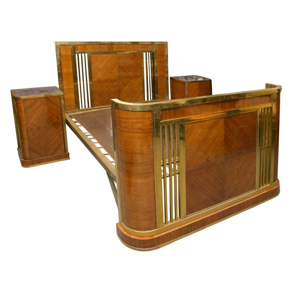 French Art Deco Bed at 1stdibs