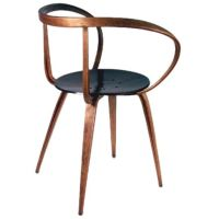 Rare George Nelson Pretzel Chair for Herman Miller at 1stdibs