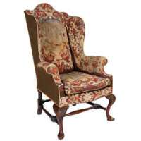 A Period French Empire Swan Tub Chair at 1stdibs