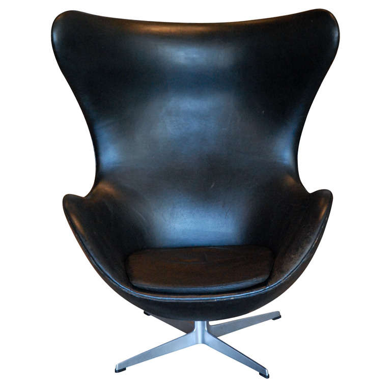 Arne Jacobsen Egg Chair Denmark 1960 At 1stdibs