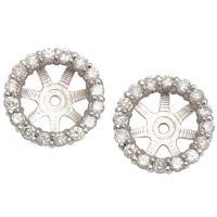 Diamond Earrings: Diamond Stud Earring Jackets