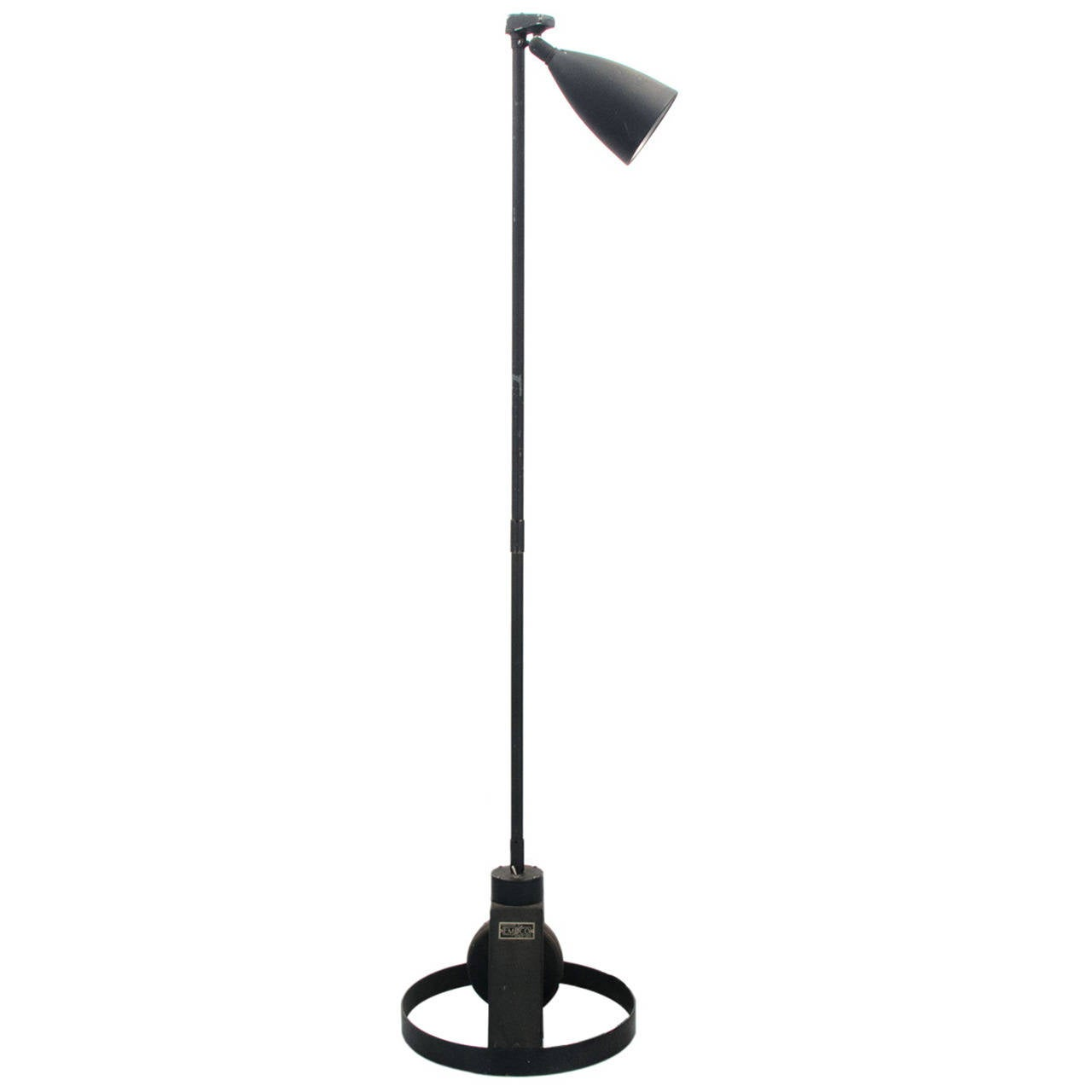 Minimalist Floor Lamp Minimalist Industrial Floor Lamp At 1stdibs