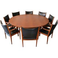 Hans Wegner Conference Table and Chairs Set for Johannes ...