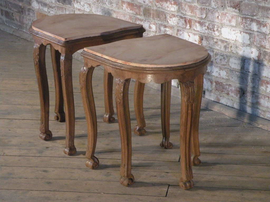 Unusual Accent Tables Pair Of Unique Side Tables Or Stools Image 2