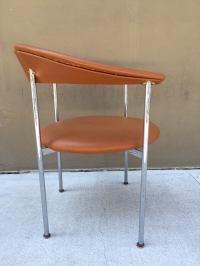 Mid-Century Modern Chrome Side Chair image 3