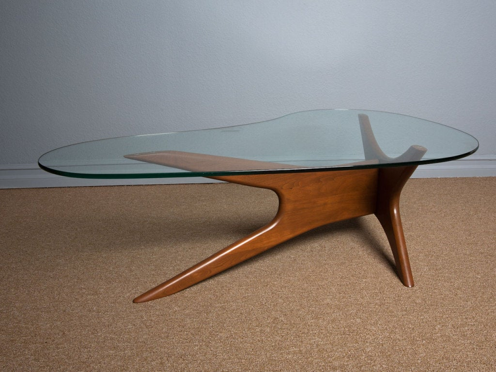 Sculptural Coffee Tables Sculptural Coffee Table By Adrian Pearsall At 1stdibs