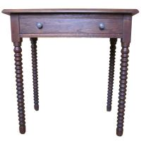 Late 19th century spindle leg table at 1stdibs