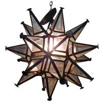 Moravian Star Light Fixture at 1stdibs
