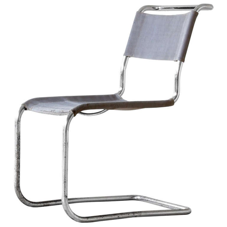 Marcel breuer cantilever chair at 1stdibs