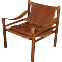 Arne Norell Mid-Century Modern Leather Sirocco Chair at ...