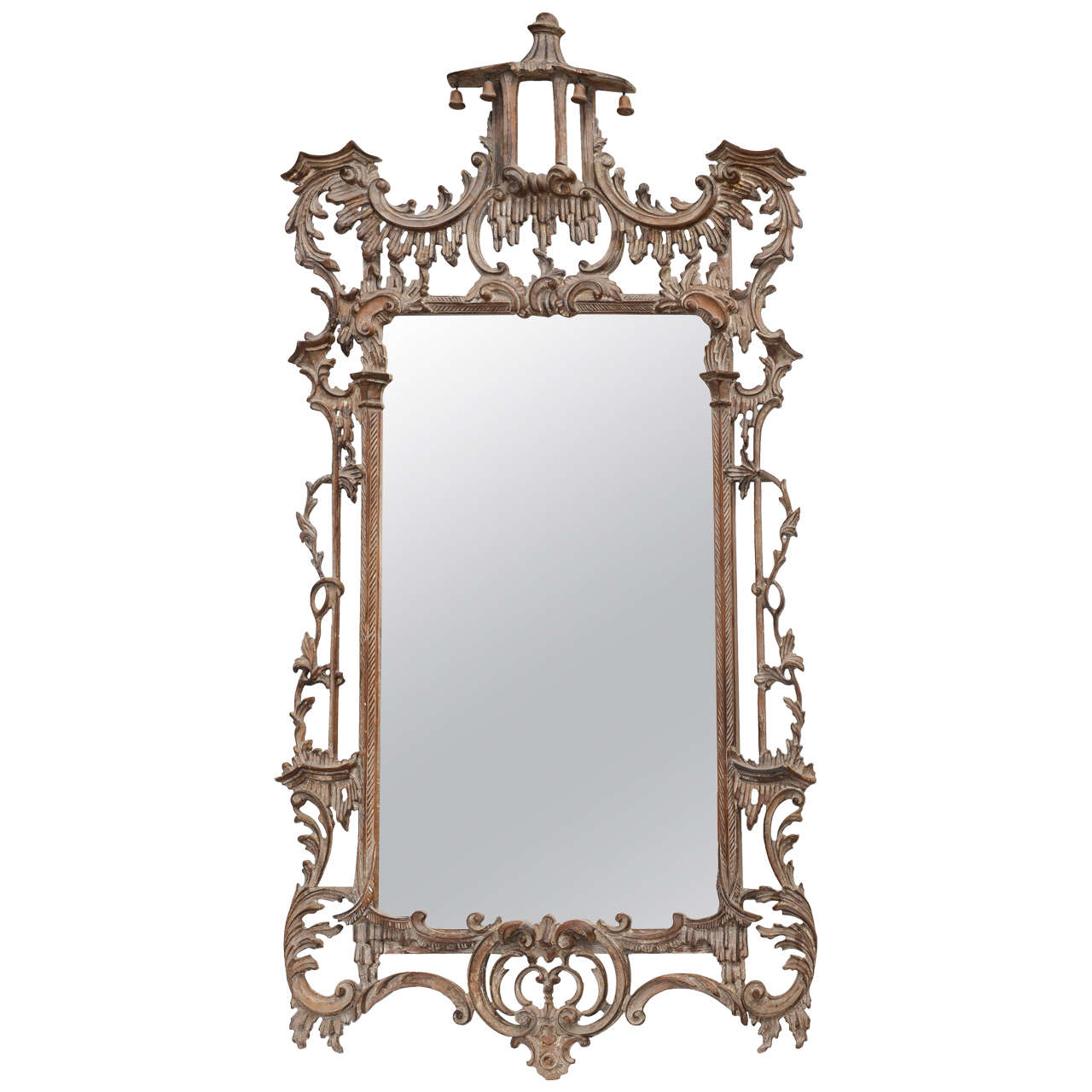 Asian Style Wall Mirrors Chinese Chippendale Style Mirror At 1stdibs