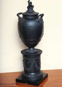 Wedgwood Basalt Lamp at 1stdibs