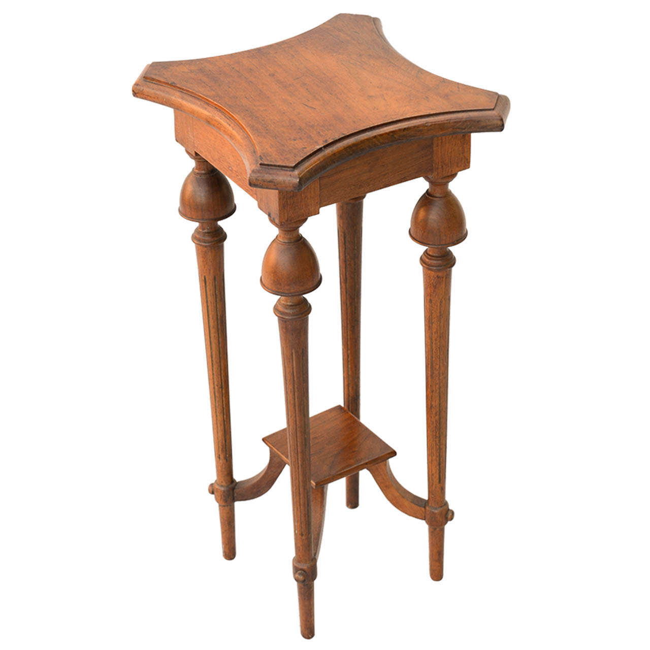 Unusual Accent Tables Unusual Walnut Accent Table At 1stdibs