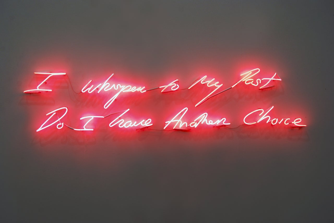 Feel My Love Quotes Wallpaper Tracey Emin I Whisper To My Past Do I Have Another