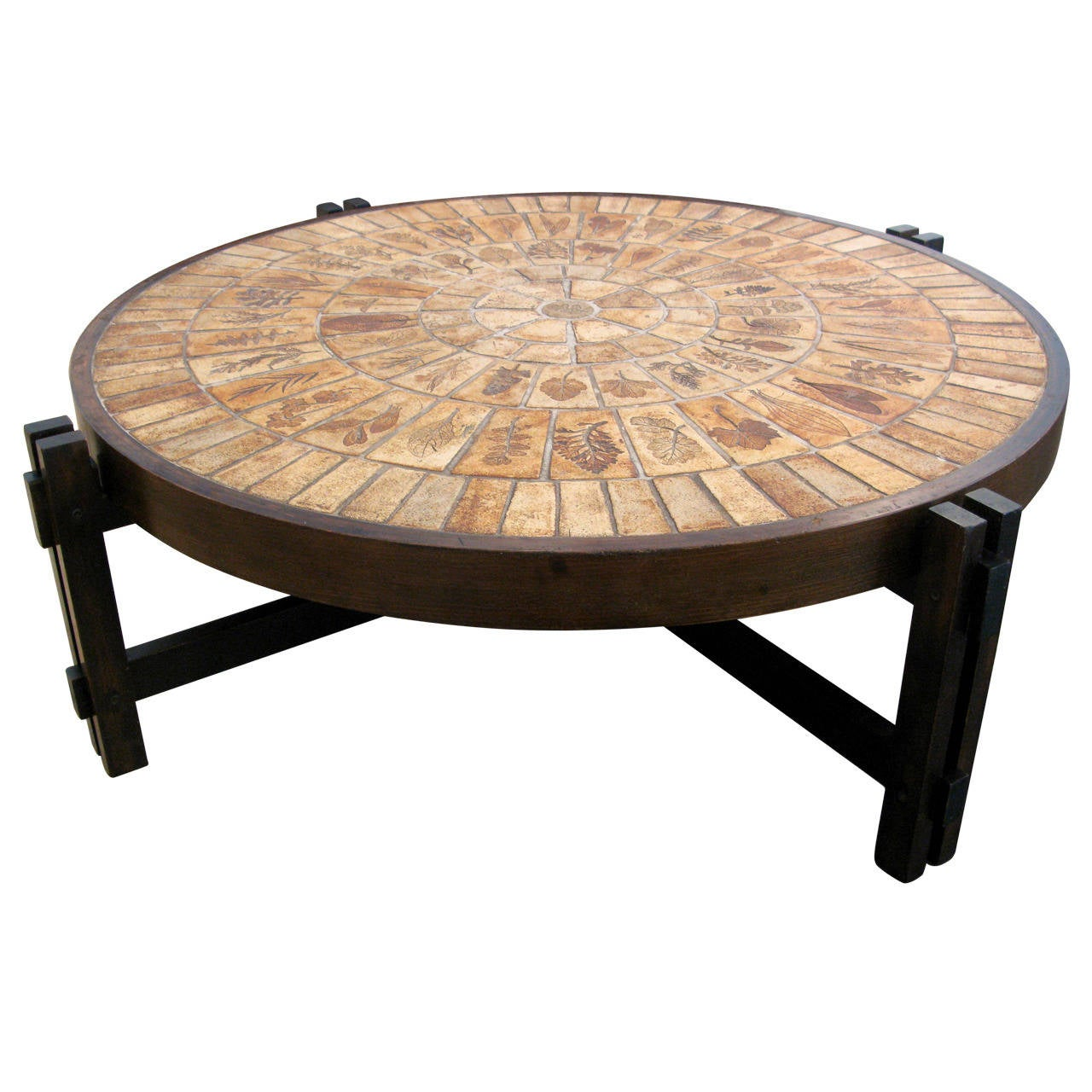 Original Coffee Table Original Roger Capron Coffee Table At 1stdibs