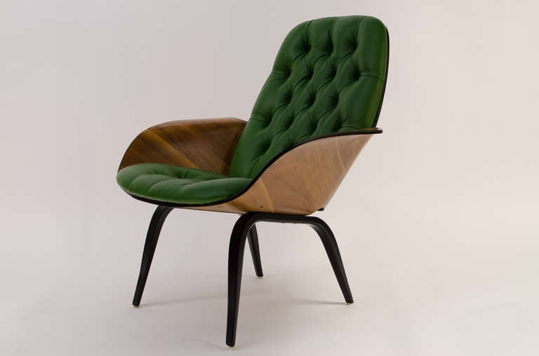 George mulhauser plycraft modled plywood lounge chair at