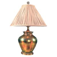 Steuben vase table lamp at 1stdibs