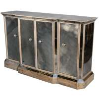 Mirrored Credenza at 1stdibs