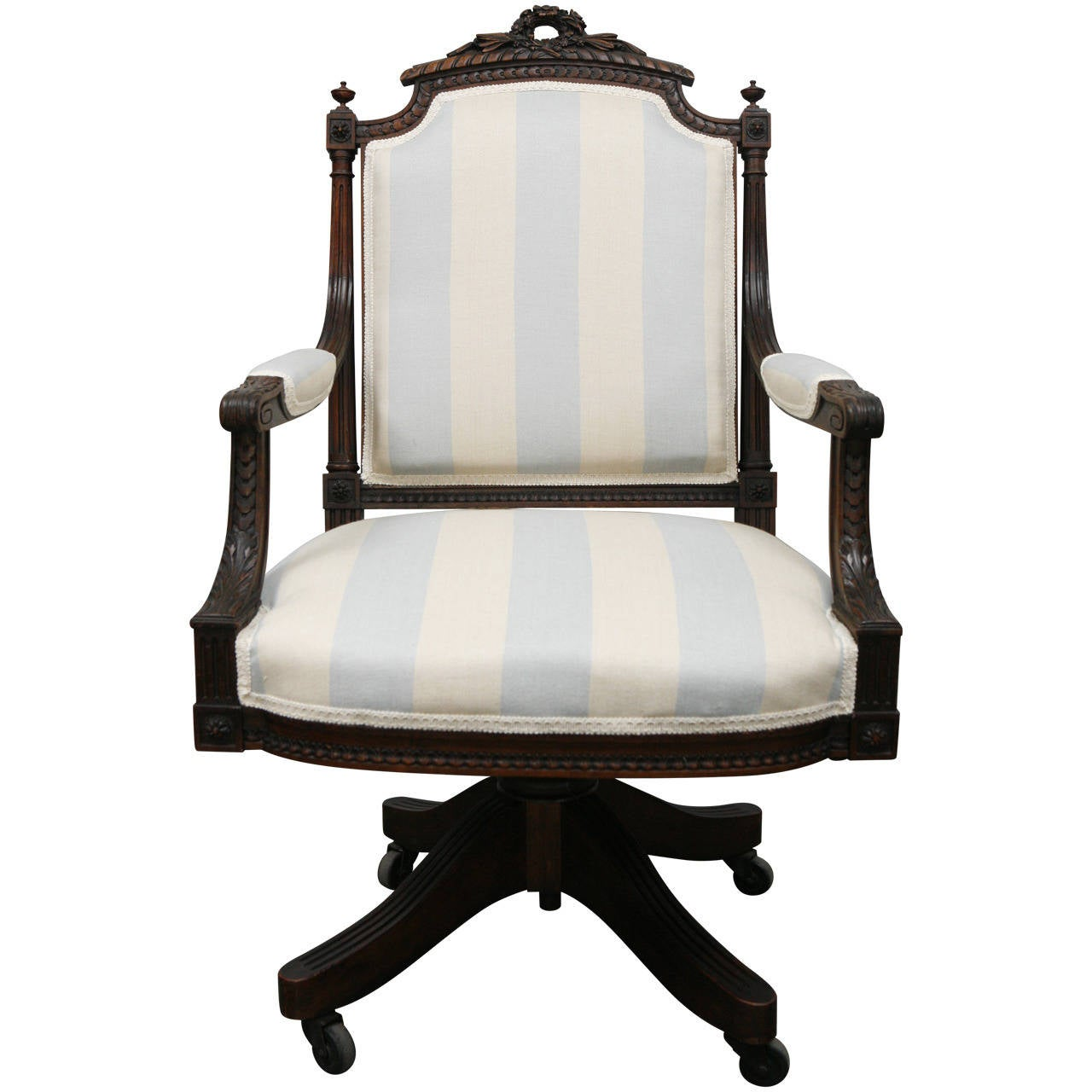 Office Chair Styles Louis Xvi Style Office Chair At 1stdibs