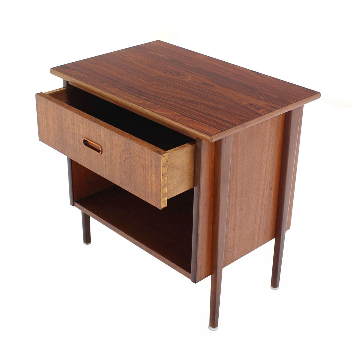 Danish Modern End Table Danish Modern Teak End Table Or Nightstand At 1stdibs