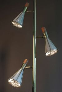 Mid Century Floor to Ceiling Pole Lamp image 3