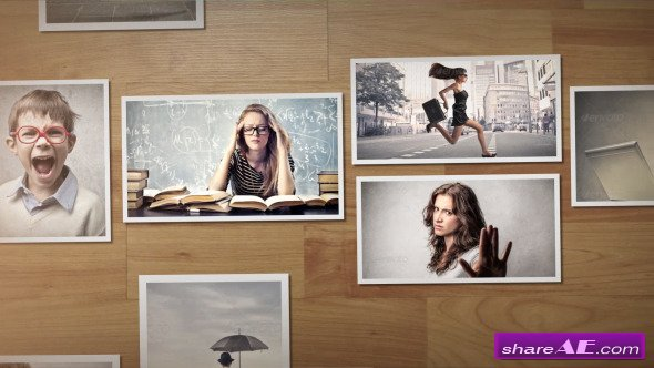 Photo Gallery Slideshow - After Effects Project (Videohive) » free