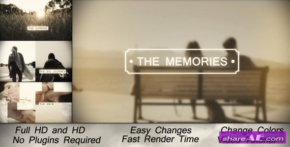 Memories Slideshow 6348368 - After Effects Project (Videohive