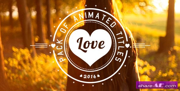 Love Titles - After Effects Project (Videohive) » free after effects