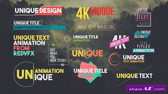 Videohive Titles 21243068 » free after effects templates after - animation title