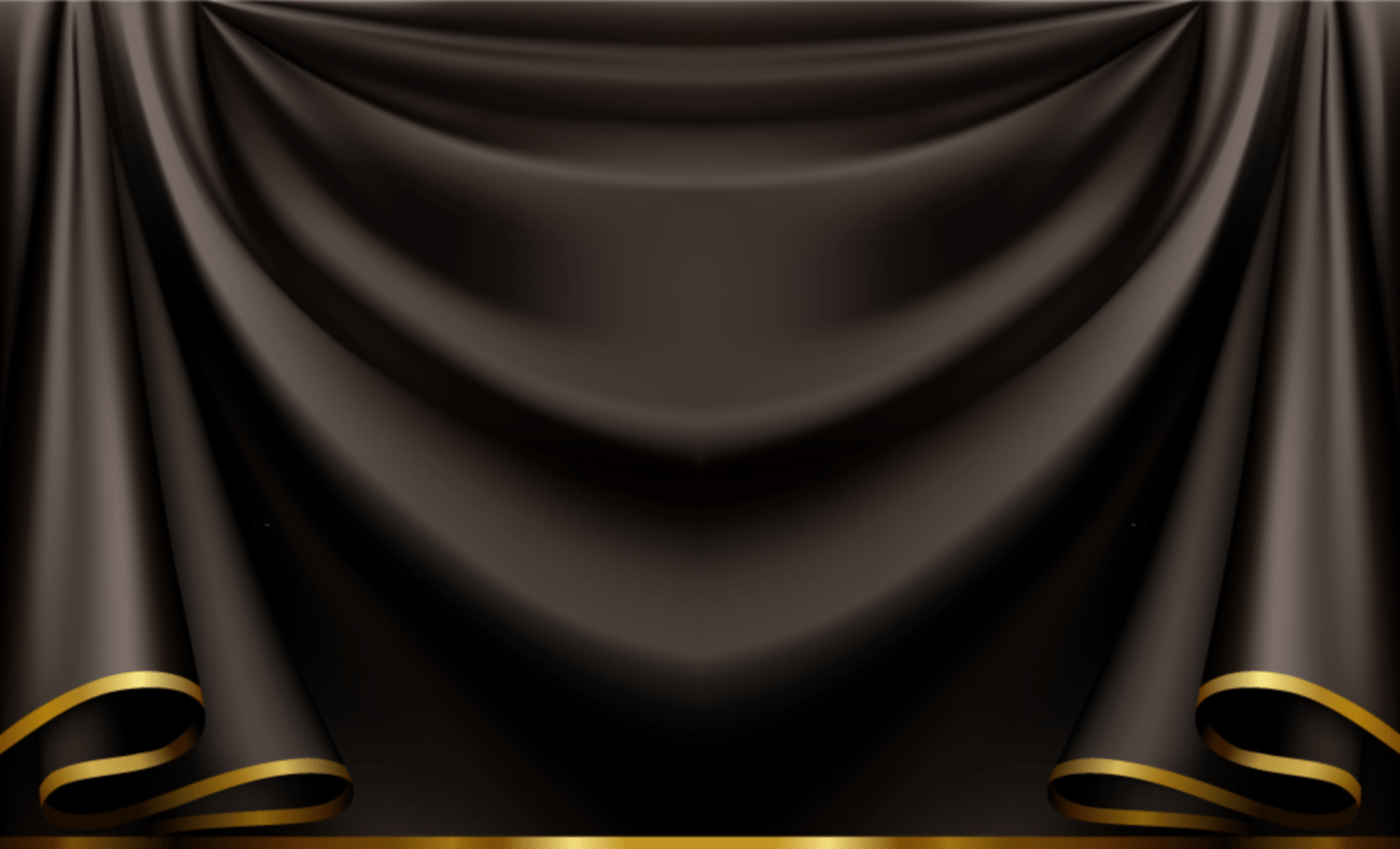 Schwarzer Vorhang Black Curtain Backdrop Trimmed In Gold Png Share A Verse
