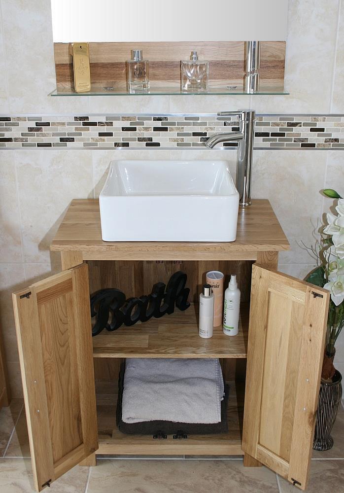 Solid Oak Bathroom Cabinet Oak Under Sink Bathroom