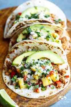 Multipurpose Healthy Turkey Tacos Pineapple Salsa Healthy Turkey Tacos Pineapple Salsa Shared Appetite Ground Turkey Tacos Martha Stewart Ground Turkey Tacos Healthy